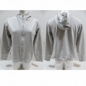 Catalina hoodie Medium 8/10 solid zip up scalloped